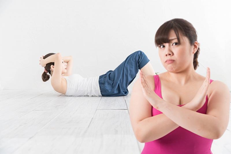 筋トレなしで痩せるダイエットを成功させる3つのポイントとは?