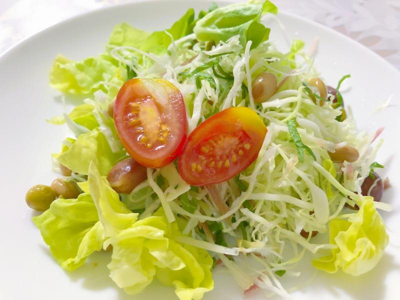 たくさん食べたいなら生野菜!