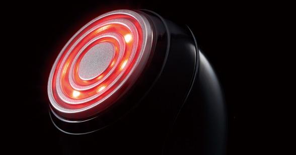 従来品のS10-YLとフォトケアを比較すると、約3倍の光エネルギーの照射ができるように強化